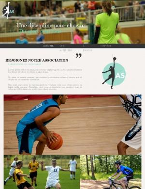 template-Association sportive 5