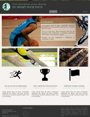 template-Association sportive 6